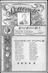Souvenir card of Booton's Creek School, Cabell Co.,W.Va.