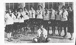 Girls' basketball Squad, Carroll High School, Hamlin, W.Va.