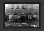 Students & faculty, Guyan Valley High School, Branchland, W.Va.