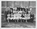 Senior Class, Guyan Valley High School, Branchland, W.Va.