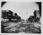 3rd Ave at 9th Street, looking west, Huntington, WV, 1889