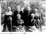 Mrs. Peter E. Love, Peter E. Love, Sampson Simmons, Mrs. Sampson Simmons, Mrs. Dr. B.C.Vinson, Mrs. Malinda Simmons Gallher