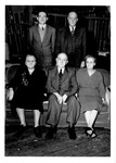 Annie Roberts Harshbarger, E.E. Harshabarger, James Mack Roberts, Amelia Roberts, widow of Harry Roberts, and her son Richard Roberts, Milton, W.Va.