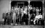 Fred Lambert, 2nd row 3rd from left, in glasses