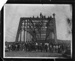3rd Avenue bridge over Guyan River to Guyandotte, W.Va. built 1908