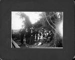 Unidentified group at Spray, N.C. near beach, Apr. 7, 1901
