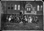 Virginian Literary Society at Marshall College, ca. 1884 by Erskine
