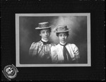 Mary and Georgeanna McKendree, ca. 1896 by Proctor Studio