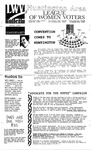LWV Bulletin, April, 1989