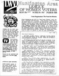 LWV Bulletin, May, 1989