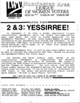 LWV Bulletin, September, 1989 by League of Women Voters of the Huntington Area
