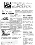 LWV Bulletin, November, 1989