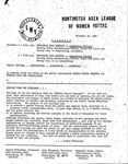 Huntington League of Women Voters, November 28, 1980
