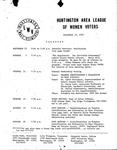 Huntington League of Women Voters, September 15, 1982