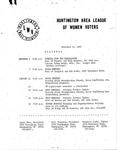 Huntington League of Women Voters, November 18, 1982