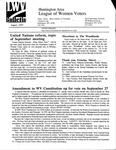 LWV Bulletin, August, 1997
