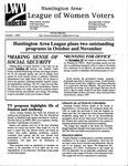 LWV Bulletin, October, 1999