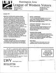 LWV Bulletin, December, 1999