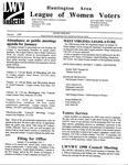LWV Bulletin, January, 1998