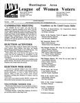 LWV Bulletin, October, 1998