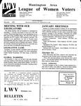 LWV Bulletin, December, 1998