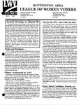 LWV Bulletin, March, 1996