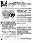 LWV Bulletin, December, 1995