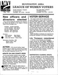 LWV Bulletin, May, 1994 by League of Women Voters of the Huntington Area