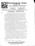 LWV Bulletin, February, 1991 by League of Women Voters of the Huntington Area