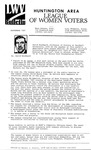 LWV Bulletin, September, 1991 by League of Women Voters of the Huntington Area