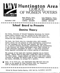LWV Bulletin, September, 1990 by League of Women Voters of the Huntington Area