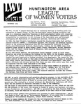 LWV Bulletin, November, 1992 by League of Women Voters of the Huntington Area