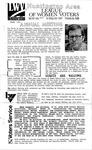 LWV Bulletin, March, 1990 by League of Women Voters of the Huntington Area