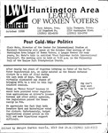 LWV Bulletin, October, 1990 by League of Women Voters of the Huntington Area