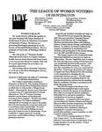 LWV Bulletin, February, 2007