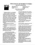 LWV Bulletin, September, 2006