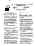 LWV Bulletin, April, 2005