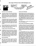 LWV Bulletin, January, 2009