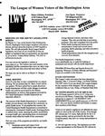 LWV Bulletin, March, 2009