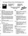 LWV Bulletin, May, 2009