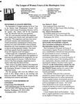LWV Bulletin, September, 2009