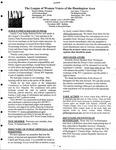 LWV Bulletin, November, 2009