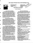 LWV Bulletin, November, 2008