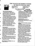 LWV Bulletin, May, 2008