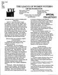 LWV Bulletin, April, 2008