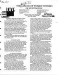 LWV Bulletin, March, 2007