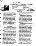 LWV Bulletin, September, 2007