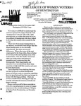 LWV Bulletin, November, 2007