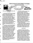 LWV Bulletin, November, 2005