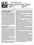 LWV Bulletin, May, 2000 by League of Women Voters of the Huntington Area